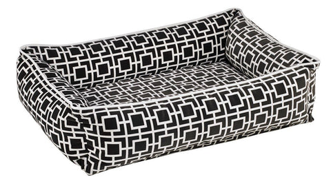 Hollywood Feed - *Bowsers Urban Lounger - Courtyard Grey - Bolster Bed - 2