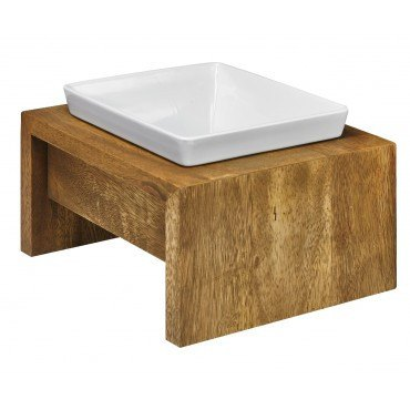 Hollywood Feed - *Bowsers Artisan Single Diner - Bamboo - Bowls and Feeders