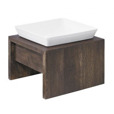 Hollywood Feed - *Bowsers Artisan Single Diner - Walnut - Bowls and Feeders