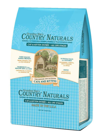 Country Naturals Cat Food - Cat & Kitten Entrée