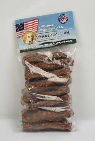 Hollywood Feed - Wholesome Hide Chunkees 8oz - Chew