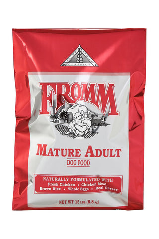 Hollywood Feed - Fromm Dog Food - Classic Mature - Dry Dog Food - 1