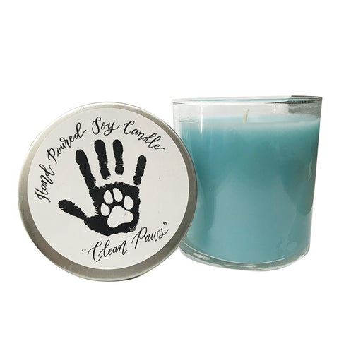 Soy Candle - Clean Paws