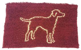 Clean Paws Absorbent Mat - Burgundy