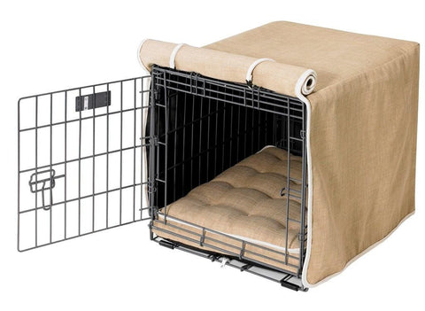 Hollywood Feed - *Bowsers Lux Crate COVER - Flax - Crate Covers