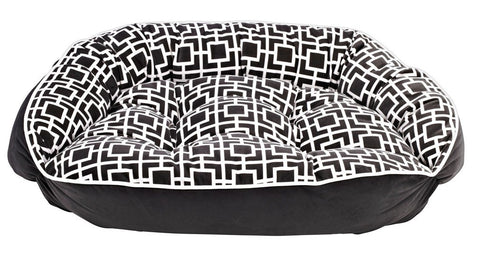 Hollywood Feed - *Bowsers Crescent Bed - Courtyard Grey - Crescent Bed - 2