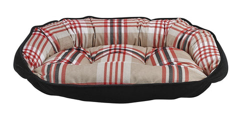 Hollywood Feed - *Bowsers Crescent Bed - Turnberry Plaid - Crescent Bed