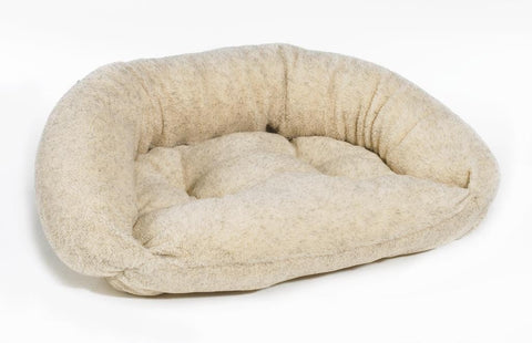 Hollywood Feed - *Bowsers Reversible Lounger - Oatmeal - Crescent Bed