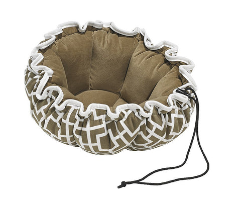 Hollywood Feed - *Bowsers Buttercup Bed - Courtyard Taupe - Cuddler - 2