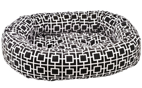 Hollywood Feed - *Bowsers Donut Bed - Courtyard Grey - Donut Bed