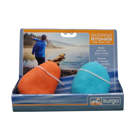 Hollywood Feed - Kurgo Skipping Stones - Fetch Toys - 1