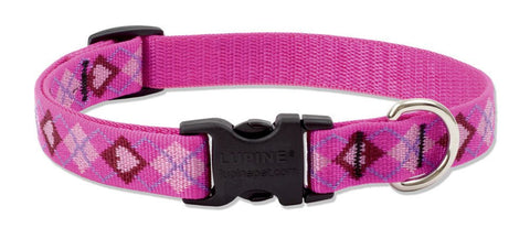 "Hollywood Feed - Lupine Adjustable Dog Collar (Medium Dog) - Puppy Love - 3/4"" - Flat Collar (Adjustable)"