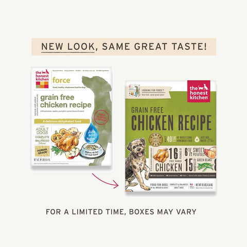 Honest Kitchen Dog Food - Force