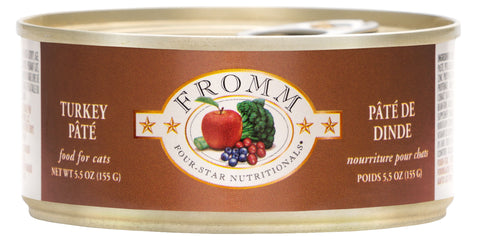 Fromm Cat Food - Turkey Pate 5oz