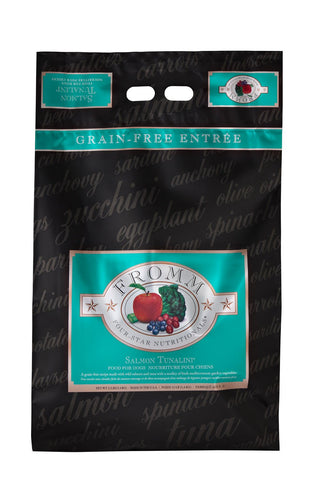 Hollywood Feed - Fromm Dog Food - Four-Star Salmon Tunalini - Dry Dog Food - 1