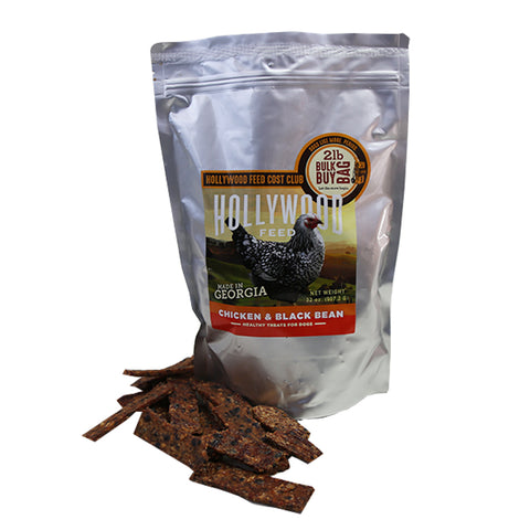 Georgia Made - Jerky Strips - Chicken & Black Bean 2#