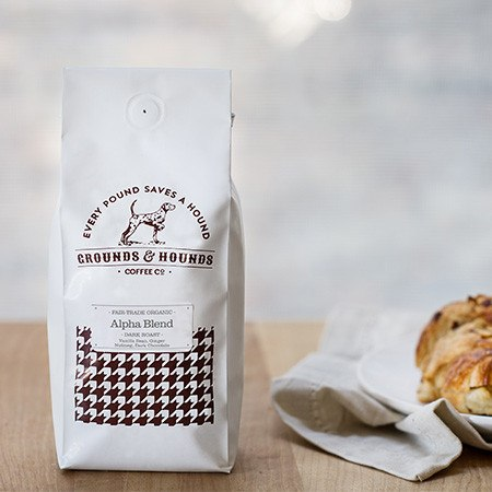 Grounds & Hounds Coffee Co. - Alpha Blend - 12oz Whole Bean
