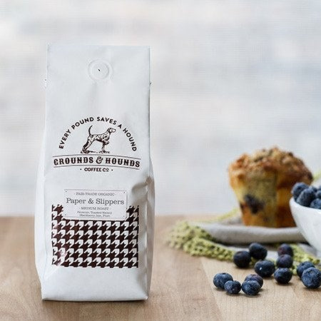 Grounds & Hounds Coffee Co. - Paper & Slippers Blend - 12oz Whole Bean