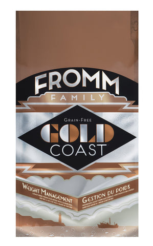 Hollywood Feed - Fromm Dog Food - Gold Coast Weight Management Grain-Free - Dry Dog Food - 1