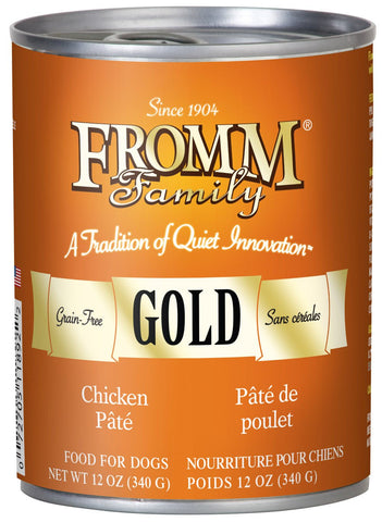 Hollywood Feed - Fromm Dog Food - Gold Chicken Pate - Canned Dog Food