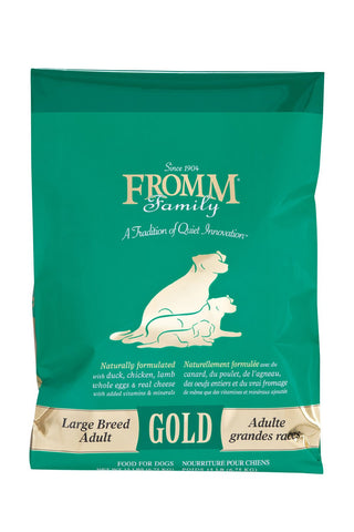 Hollywood Feed - Fromm Dog Food - Gold Large Breed Adult - Dry Dog Food - 1