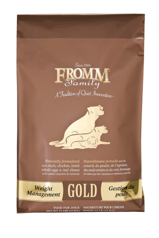 Hollywood Feed - Fromm Dog Food - Gold Weight Management - Dry Dog Food - 1