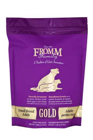 Hollywood Feed - Fromm Dog Food - Gold Small Breed - Dry Dog Food - 1