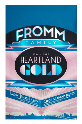 Hollywood Feed - Fromm Dog Food - Heartland Gold Large Breed Puppy Grain-Free - Dry Dog Food - 1