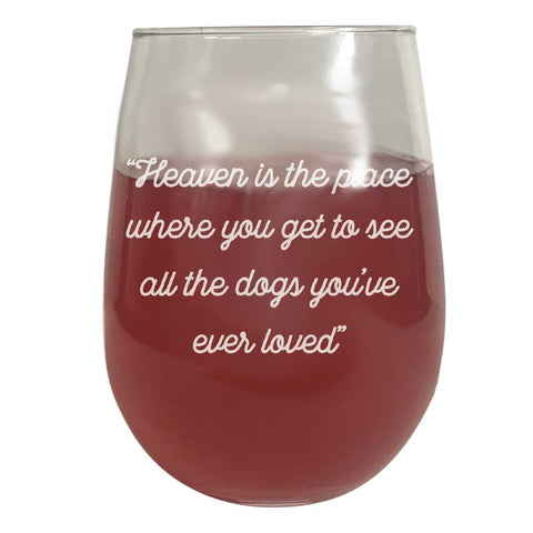 Wine Glass - Heaven