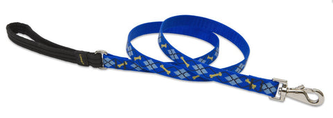 "Hollywood Feed - Lupine Lead (Medium Dog) - Dapper Dog - 3/4"" - Lead"