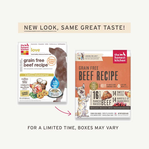 Honest Kitchen Dog Food - Love