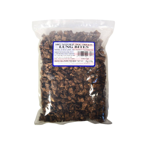 Hollywood Feed - Butcher's Block Lung Bites 1lb Bag - Treats