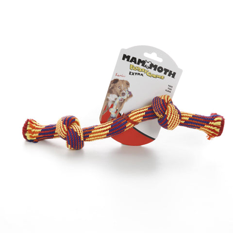 Hollywood Feed - Mammoth Rope Toy - Braided Bone - Medium -
