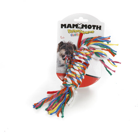 Hollywood Feed - Mammoth Rope Toy - Cloth Bars - Small -