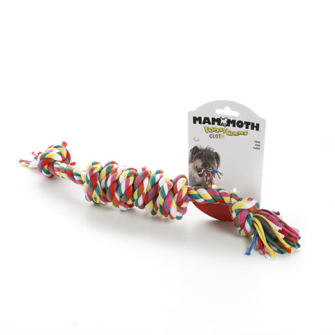 Hollywood Feed - Mammoth Rope Toy - Cloth Monkey Bar - Large -