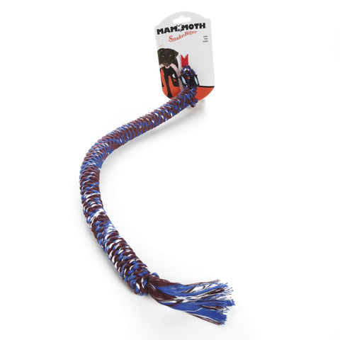 Hollywood Feed - Mammoth Rope Toy - Snakebiter - Small -
