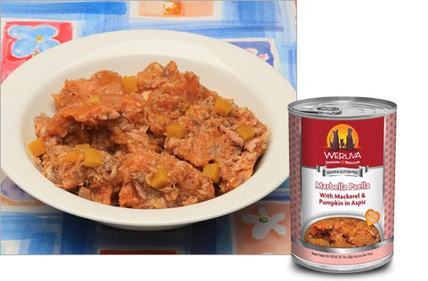 Weruva Dog Food - Grain Free Marbella Paella with Mackerel and Shrimp in Aspic 14oz - 12/cs