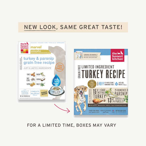 Honest Kitchen Dog Food - Marvel