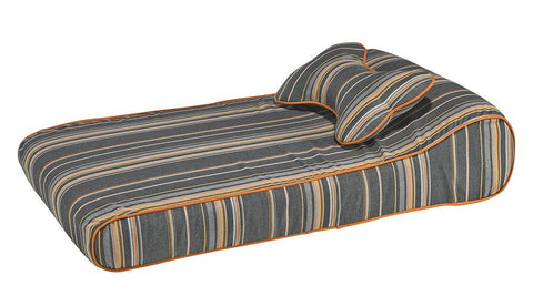 Hollywood Feed - *Bowsers Contour Lounger - Cabana Stripe - Orthopedic Bed