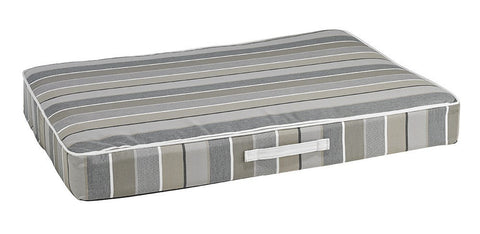 Hollywood Feed - *Bowsers Rectangle Patio Cushion - Boardwalk Stripe - Orthopedic Bed - 2