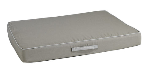 Hollywood Feed - *Bowsers Rectangle Patio Cushion - Dune - Orthopedic Bed