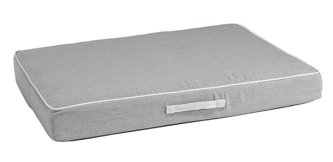Hollywood Feed - *Bowsers Rectangle Patio Cushion - Heather Gray - Orthopedic Bed - 2