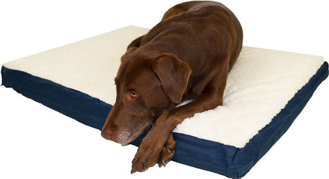 "Canine Cushion Double Sided Bed 27"" x 36"" (Assorted Colors)"