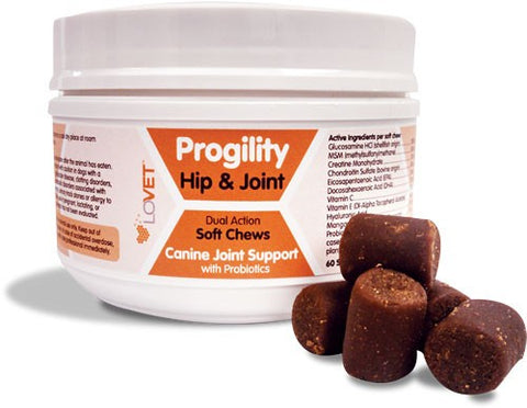 Lovet Progility Soft Chew - 60ct