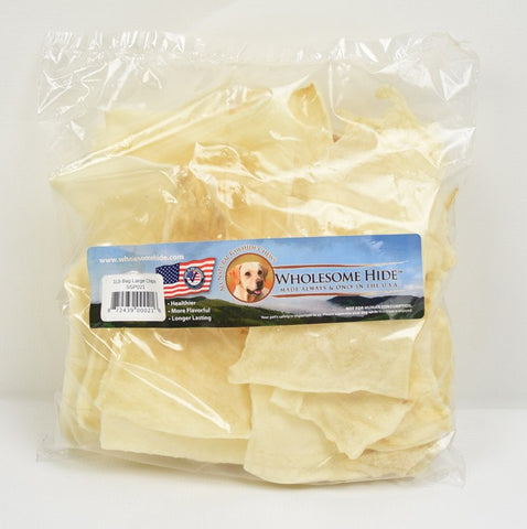 Hollywood Feed - Wholesome Hide Chips 1 Pound - Rawhide