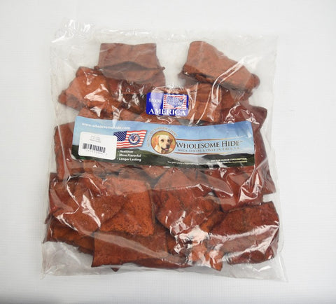 Hollywood Feed - Wholesome Hide Chips Bacon Basted 1 Pound Bag - Rawhide
