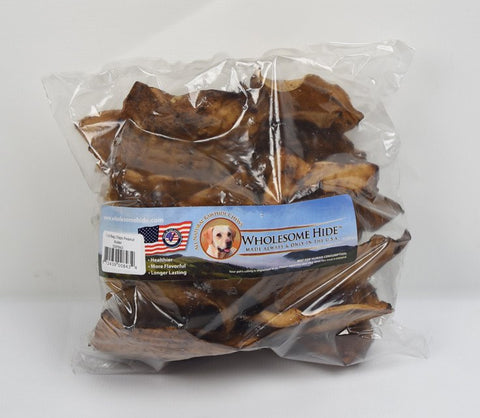 Hollywood Feed - Wholesome Hide Chips Peanut Butter 1 Pound - Rawhide