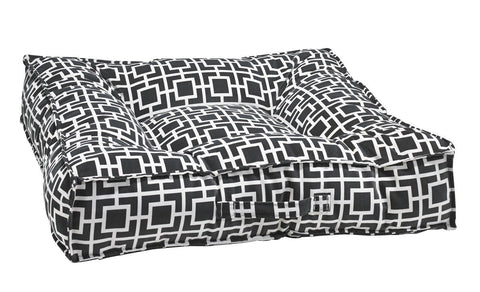 Hollywood Feed - *Bowsers Piazza Bed - Courtyard Grey - Rectangle Bed - 2