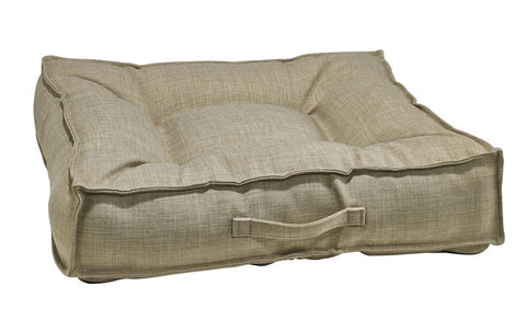 Hollywood Feed - *Bowsers Piazza Bed - Flax - Rectangle Bed