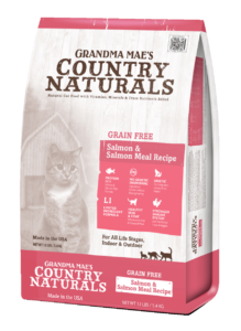 Country Naturals Cat Food - Grain Free Salmon Entrée 12#